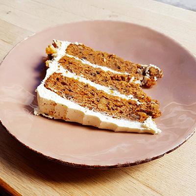 Le carrot cake de Radiodays