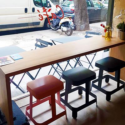 La vue de l'intérieur de Mignon Café