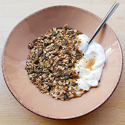 Le granola au sirop d'érable de Radiodays