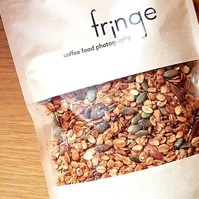 Le granola à emporter de Fringe
