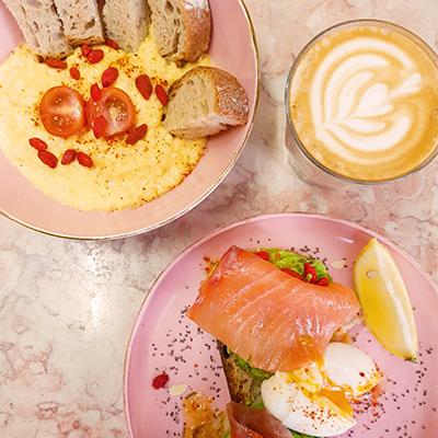 Les plats salés de Café Foufou
