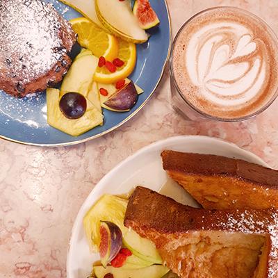 Les plats sucrés de Café Foufou