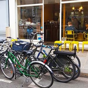 Les vélos à louer chez Le Peloton