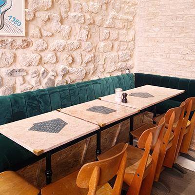 L'intérieur de Café Foufou