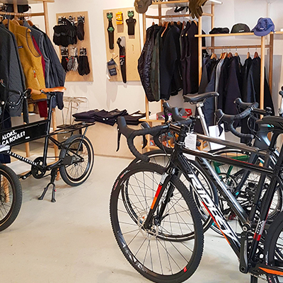 La boutique de Steel Cyclewear