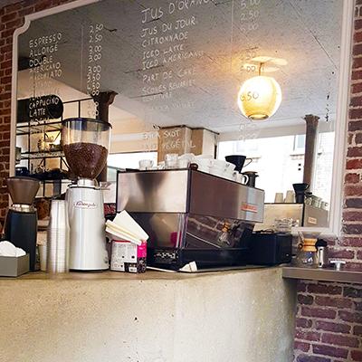 La machine à café de Passager