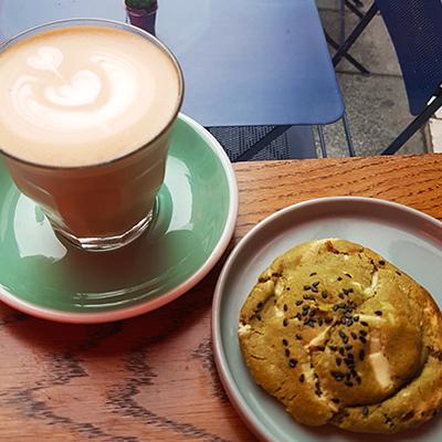 Le cookie matcha chocolat blanc de 5pailles