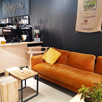 Le coin salon de GingerArt&Coffee