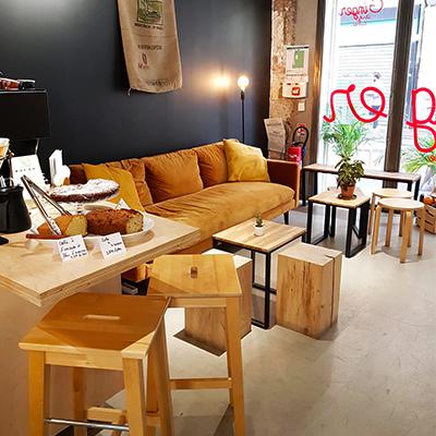 Le décor cosy de GingerArt&Coffee