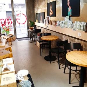 Les tables duos de GingerArt&Coffee