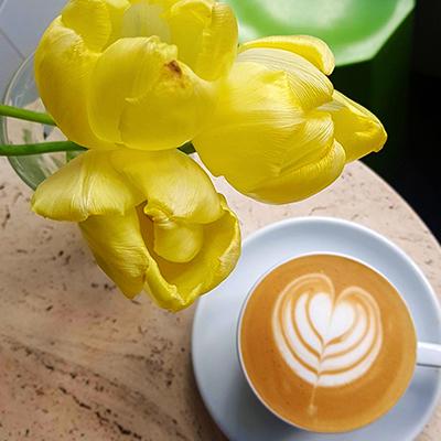 Le café crème de Boot Café