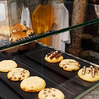 Les cookies de Motors Coffee
