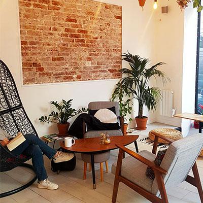 L'espace chill de Nomade Café