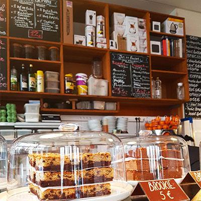 Le brookie de KB Coffee Shop