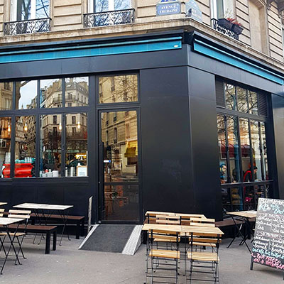 Le corner de KB Coffee Shop