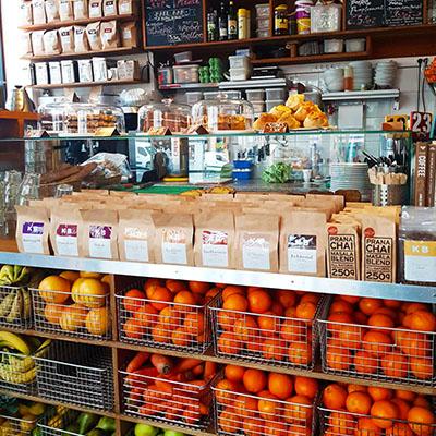 Les corbeilles de fruits de KB Coffee Shop