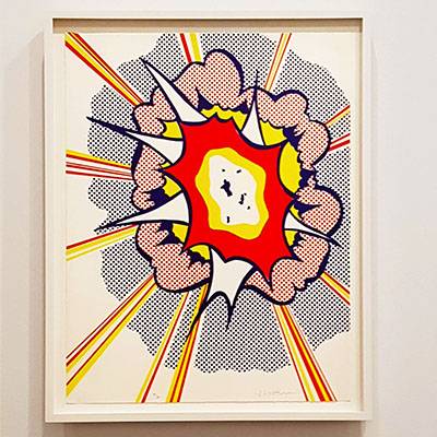 L'exposition pop art du musée Maillol