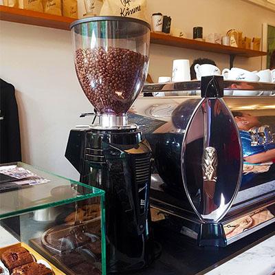 La machine à café de Café Kitsuné