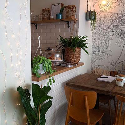 L'ambiance studieuse de Bao.Lab Café