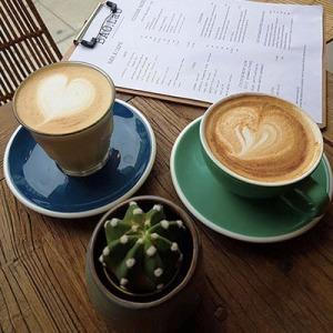 Les boissons chaudes de Bao.Lab Café