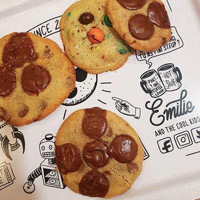 Les cookies gourmands de Emilie's cookies