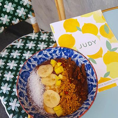 L'açai bowl de Judy