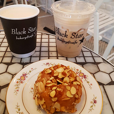 Le donut de Black Star Bakery and Café