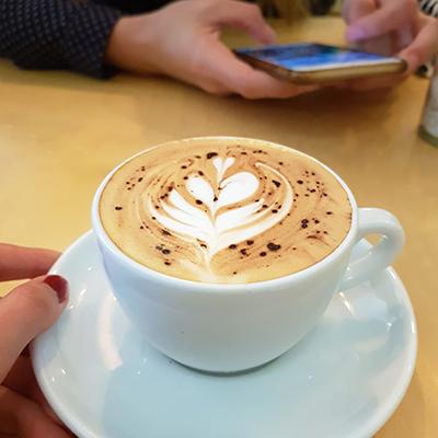 Le cappuccino de Bon Bouquet