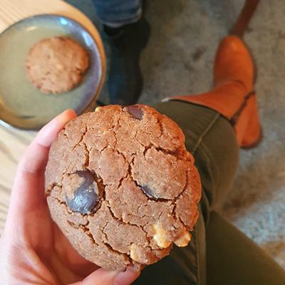Le cookie vegan au peanut better de Tich