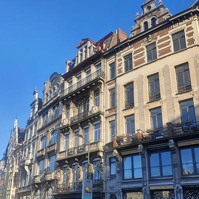 Les rues descendantes de Bruxelles