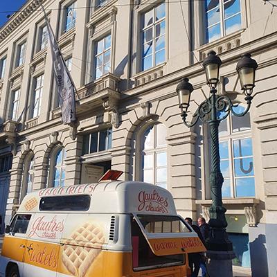 Les waffles trucks de Bruxelles