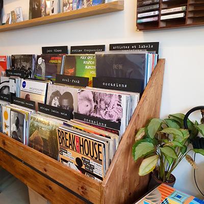 Les disques de Café Comets