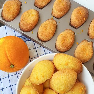 Mes madeleines à la fleur d'oranger