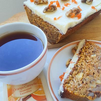 Un thé orange cannelle pour accompagner