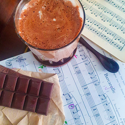 Chocolat chaud et partitions