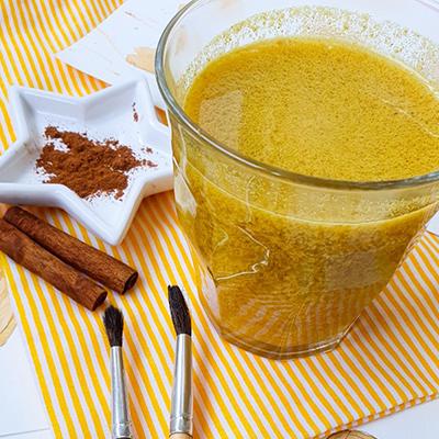 Golden Latte fort en cannelle