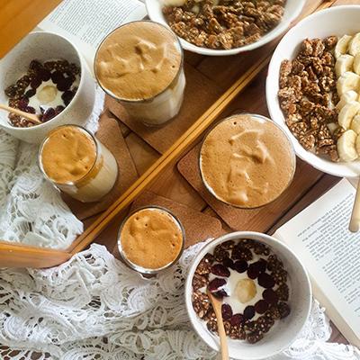 Quatuor de Dalgona Coffee