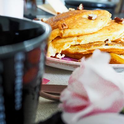 Le cache-cache des pancakes