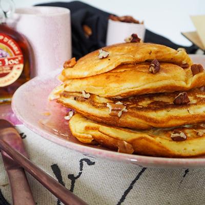 Pancakes fluffy sirop d'érable